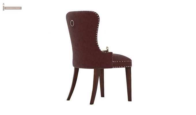 Lenox Dining Chair (Velvet, Smocked)-1