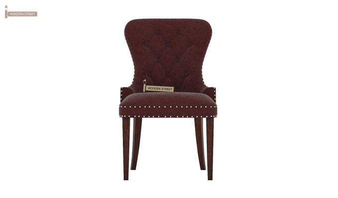 Lenox Dining Chair (Velvet, Smocked)-3