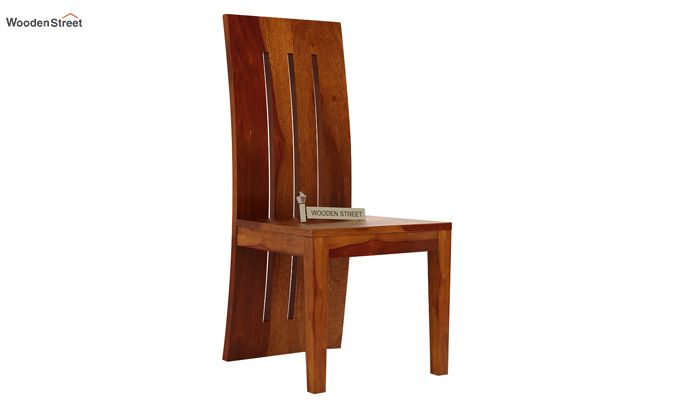 Nancy Dining Chair (Honey Finish)-1