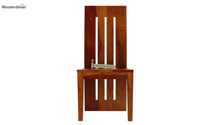 Nancy Dining Chair (Honey Finish)-2