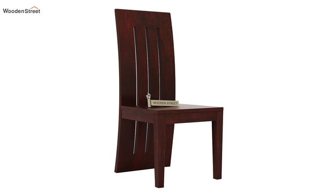 Nancy Dining Chair without Fabric (Mahogany Finish)-1
