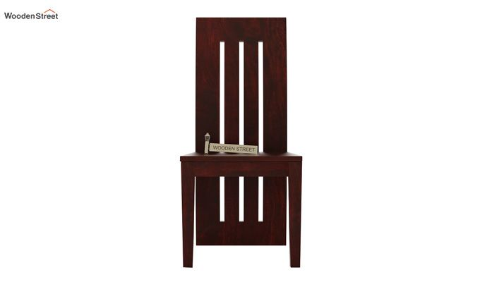 Nancy Dining Chair without Fabric (Mahogany Finish)-2