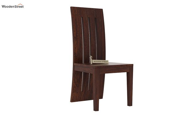 Nancy Dining Chair (Walnut Finish)-1