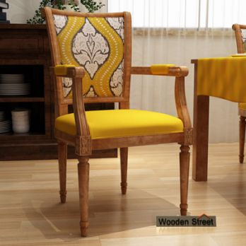 wooden arm chairs online