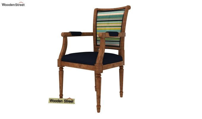 Orchid Arm Chair (Indigo Ink, Striped Smurf)-2
