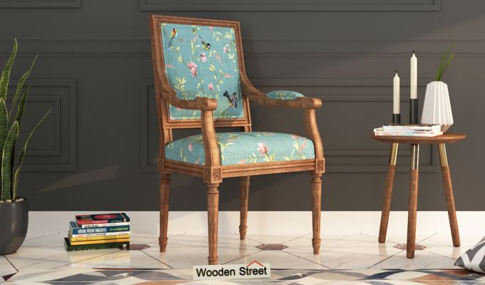 Shell Arm Chair (Bubble Robins)-1