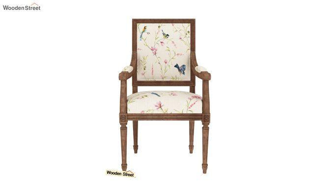 Shell Arm Chair (Cream Robins)-3