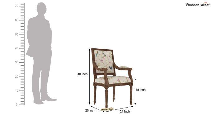 Shell Arm Chair (Cream Robins)-4