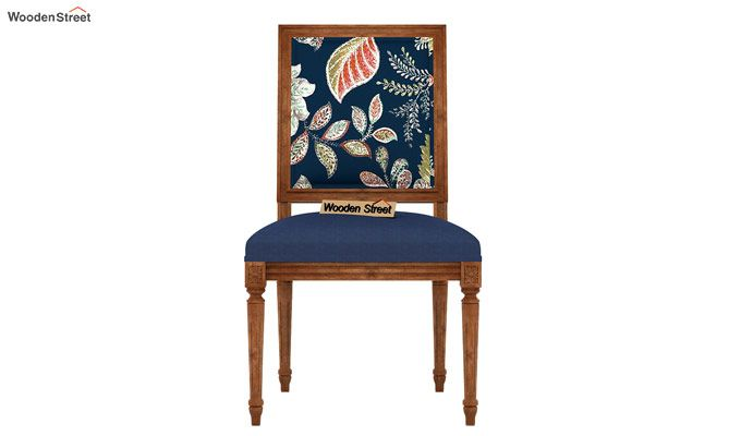 Shell Without Arm Dining Chair (Dusky Leaf)-3