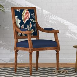 Shell Arm Chair (Dusky Leaf)