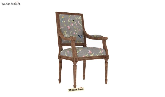 Shell Arm Chair (Grey Robins)-2