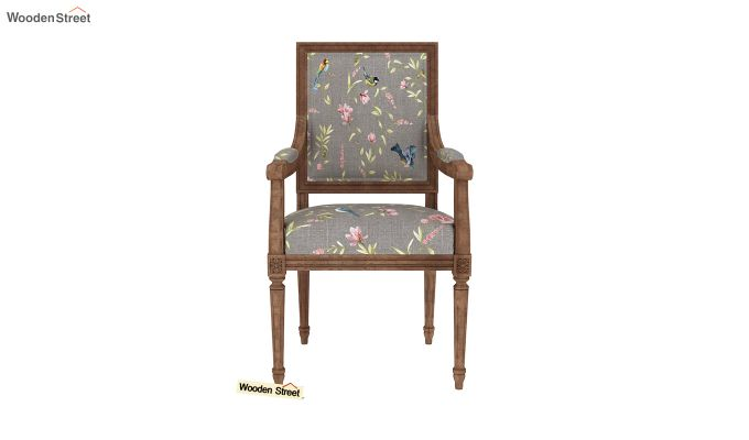 Shell Arm Chair (Grey Robins)-3