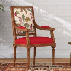 Shell Arm Chair (Rosy Leaf)