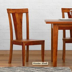 Sofie Dining Chair (Honey Finish)
