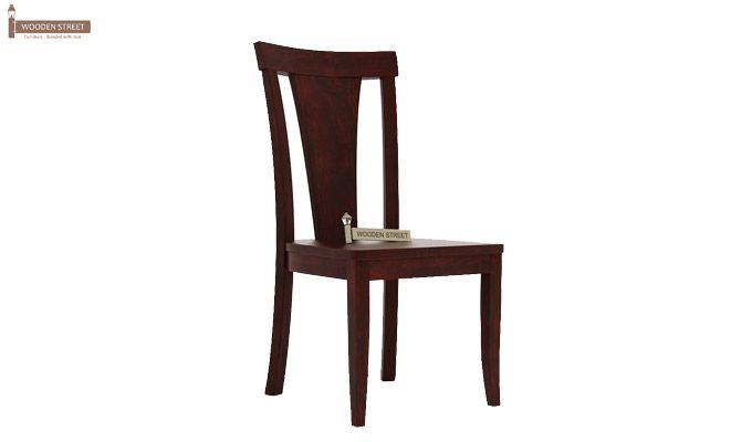 Sofie Dining Chair without Fabric (Mahogany Finish)-1