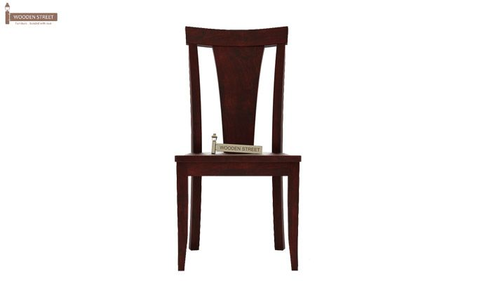 Sofie Dining Chair without Fabric (Mahogany Finish)-2