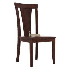 Sofie Dining Chair (Walnut Finish)