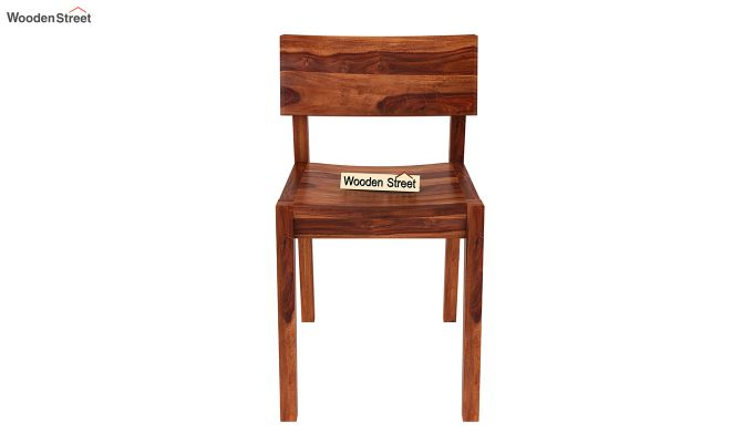 Tancy Dining Chair (Honey Finish)-2
