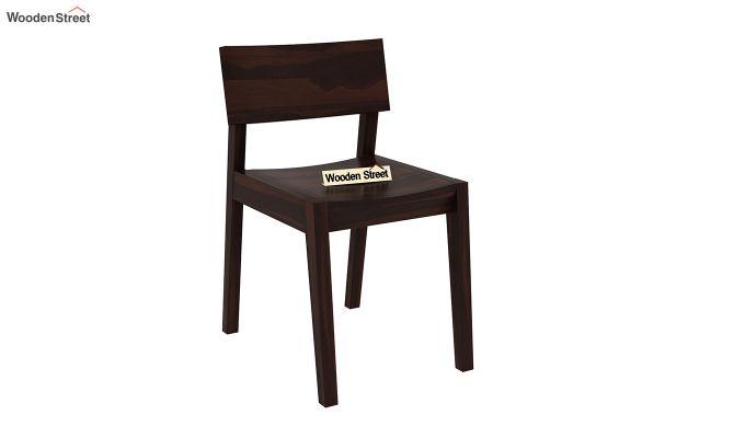 Tancy Dining Chair (Walnut Finish)-1