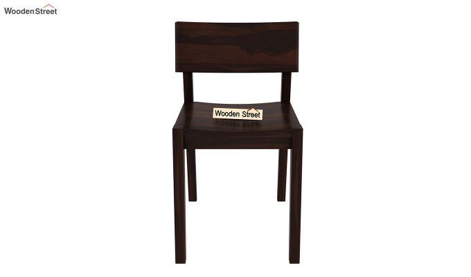 Tancy Dining Chair (Walnut Finish)-2