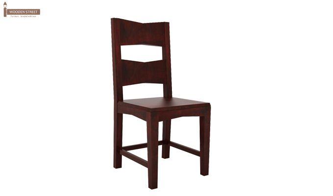 Verina Dining Chair - Set Of 2 (Mahogany Finish)-2