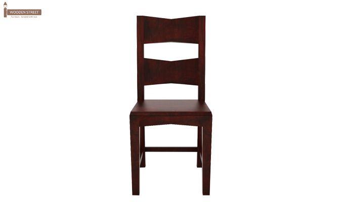 Verina Dining Chair - Set Of 2 (Mahogany Finish)-3
