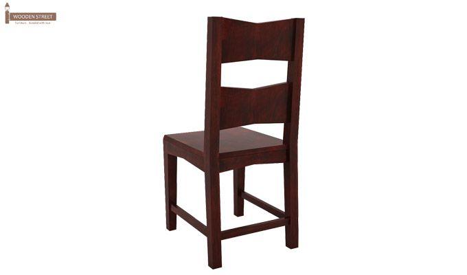 Verina Dining Chair - Set Of 2 (Mahogany Finish)-5