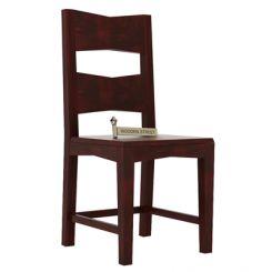 Verina Dining Chair (Mahogany Finish)