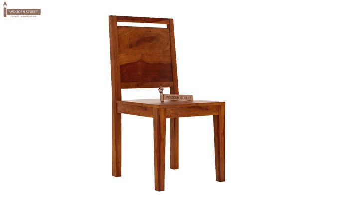 Veronica Dining Chair (Honey Finish)-1