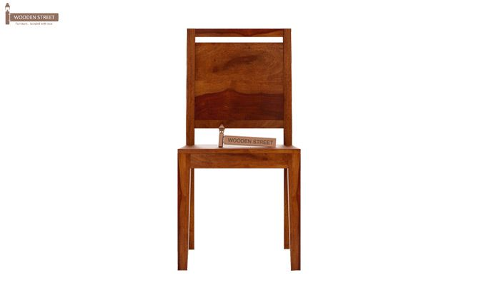 Veronica Dining Chair (Honey Finish)-2