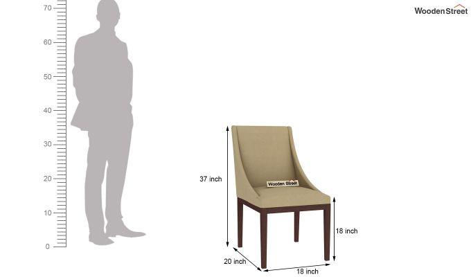 Wave Dining Chair (Irish Cream)-4
