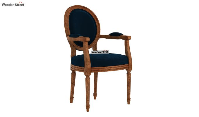 Zen Arm Chair (Indigo Blue)-2