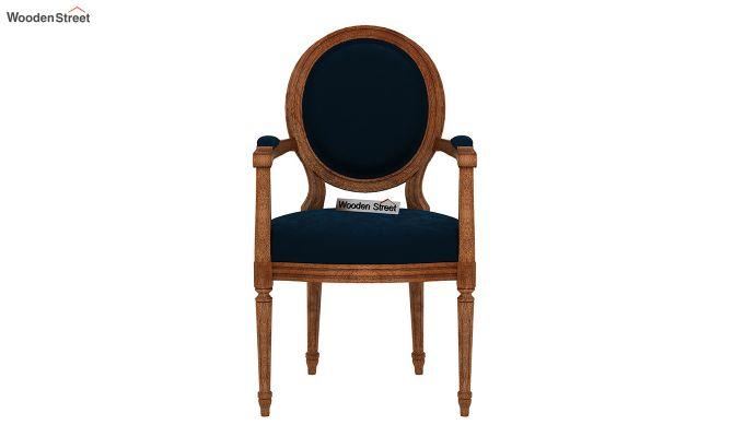 Zen Arm Chair (Indigo Blue)-3