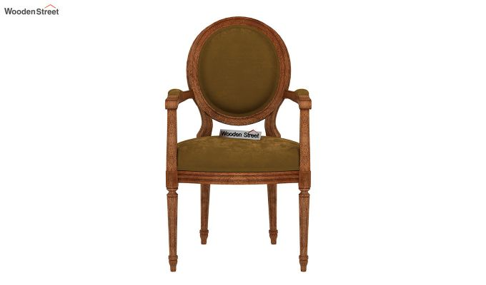 Zen Dining Chair (Olive Gold)-3