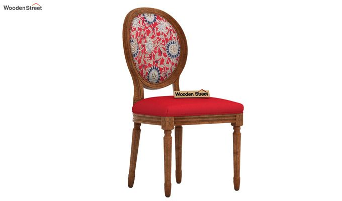 Zen Arm Chair (Dusky Rose, Scarlet Blue)-2