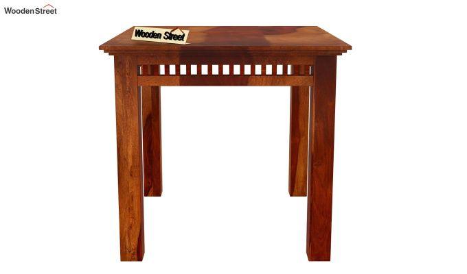 Adolph 2 Seater Dining Set (Honey Finish)-5
