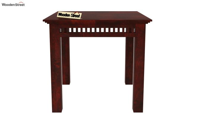 Adolph 2 Seater Dining Set (Mahogany Finish)-4