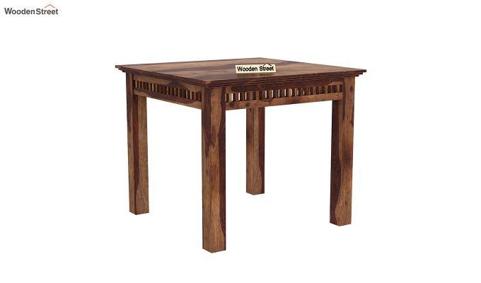Adolph 2 Seater Dining Set (Teak Finish)-4