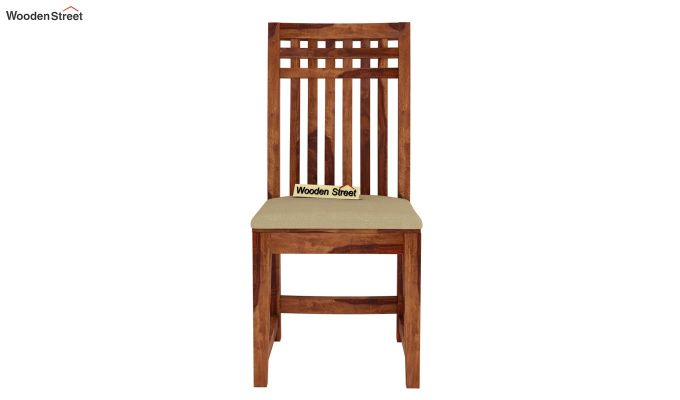 Adolph 2 Seater Dining Set (Teak Finish)-6