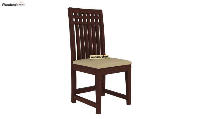 Adolph 2 Seater Dining Set (Walnut Finish)-5