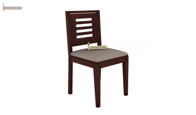 Benz Wall Mount 2 Seater Foldable Dining Set (Mahogany Finish)-7