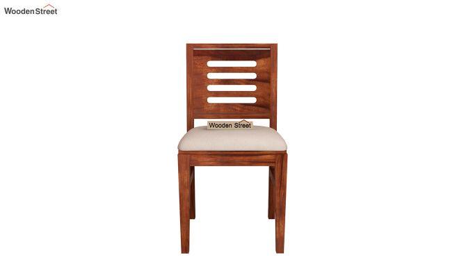 Benz Wall Mount 2 Seater Foldable Dining Set (Honey Finish)-8