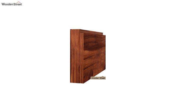 Benz Wall Mount 2 Seater Foldable Dining Set (Honey Finish)-6