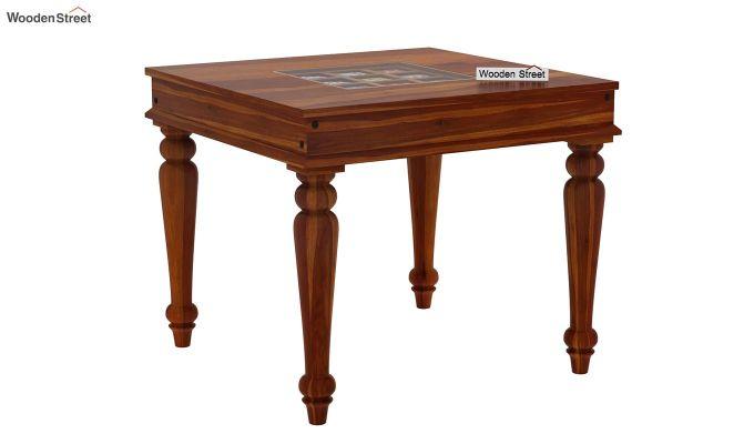 Boho 2 Seater Dining Set (Honey Finish)-6