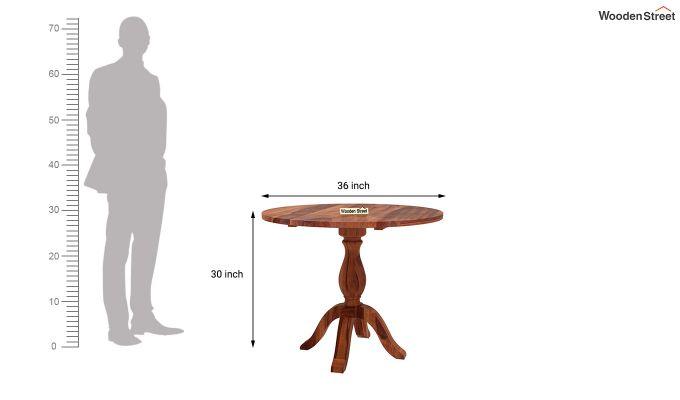 Clove 2 Seater Dining Set (Honey Finish)-10