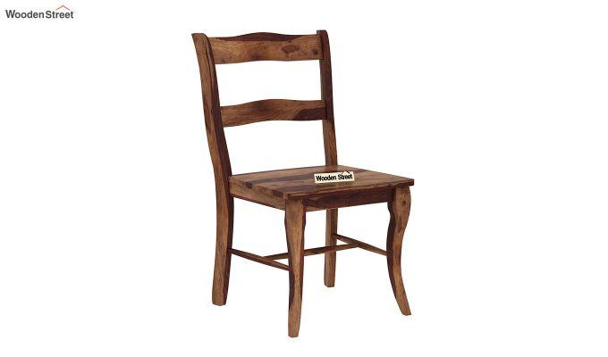 Clove 2 Seater Dining Set (Teak Finish)-5