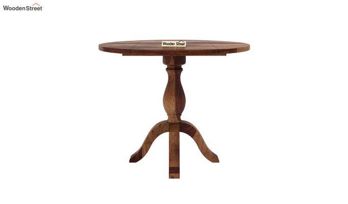 Clove 2 Seater Dining Set (Teak Finish)-8