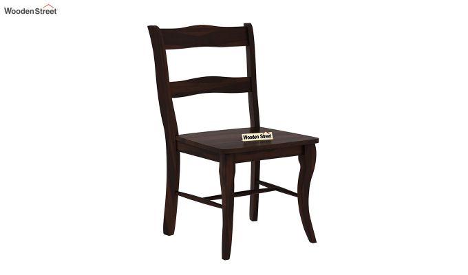 Clove 2 Seater Dining Set (Walnut Finish)-5