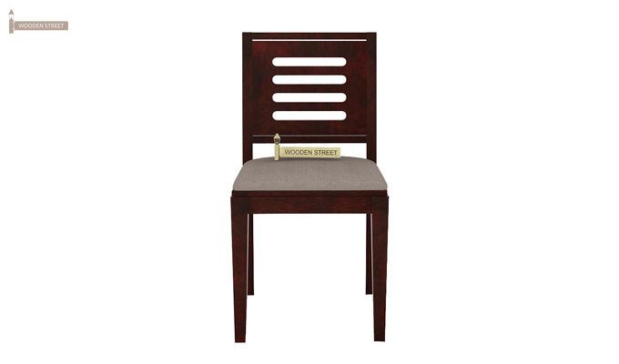 Janet 2 Seater Dining Set (Mahogany Finish)-5