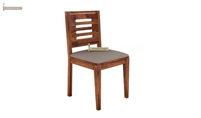 Janet 2 Seater Dining Set (Teak Finish)-6